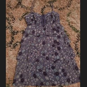 American Eagle outfitters purple floral dress